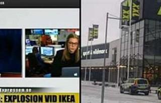 İsveç'te IKEA'da bomba paniği