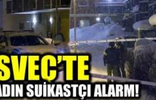 İsveç'te kadın suikastçı kurbanı başından...