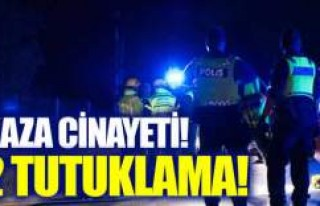 İsveç'te kaza cinayetinde tutuklama