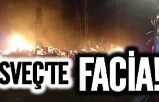 İsveç'te korkunç Villa yangını aile'den...