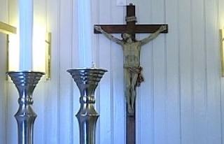 İsveç'te limanlarda ki kiliselerde Hristiyan...