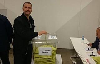 İsveç'te oy kullanmak isteyen vatandaşlarımıza...