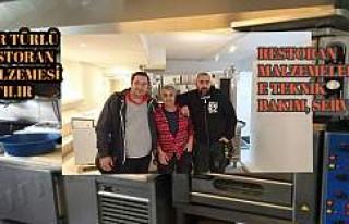 İsveç'te restoran ve pizza sektörünün işini...
