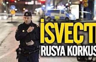 İsveç'te 'Rus tehdidi' korkusu