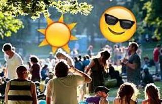 İsveç'te sezonun en sıcak haftası
