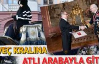İsveç'te Türk Büyükelçisine Kral Karşılama