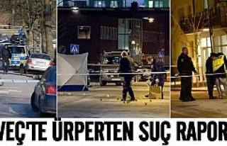 İsveç'te ürperten suç raporu!