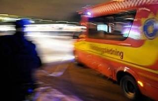 İsveç'te villa yangını korkuttu