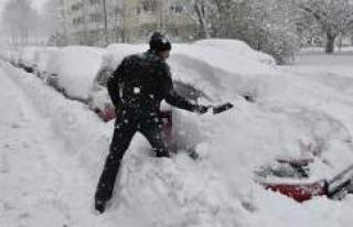 İsveç'te yeni kar dalgası