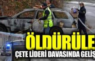 İsveç'teki çete lideri cinayetinde tutuklama...
