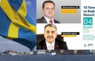 İsveç'te aynı senaryo! UETD'nin programı...