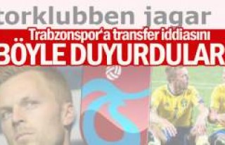 İsveç'ten Trabzonspor iddiası... Sebastian...