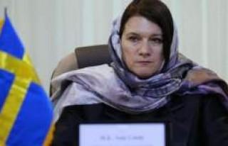 İsveç Ticaret Bakanı Ann Linde ve 10 iş adamı...