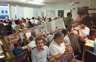 İsveç Türk İşçi Dernekleri Federasyonu İftar...