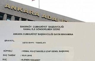 İsveç UETD'den, Kılıçdaroğlu'na Suç...