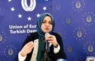 İsveç UETD'den 'Terörle mücadelede kadın'...