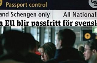 İsveç vatandaşları Pasaportsuz AB ülkelerine...