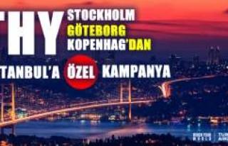 THY, İsveç ve Danimarka'dan İstanbul'a...