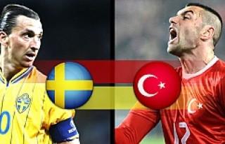İsveç ve Türkiye'nin Dünya Kupası rakipleri...