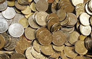 İsveçliler Arlanda'da 50 bin kron bozuk para...