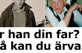İsveç'te babasından 1 milyon miras kalan kişi...