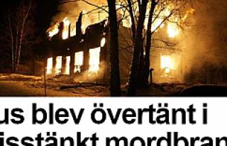 İsveç'te ev kundaklandı 7 kişi Canını zor...