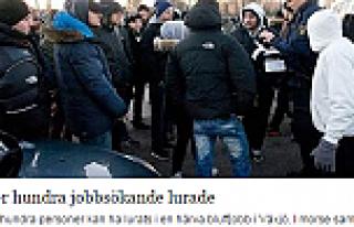 İsveç'te İşe alındığı belirtilen 130 kişi,...
