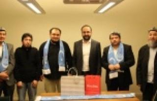 İsveç'te ki Uygur Derneklerinden Bakan Kaplan'a...