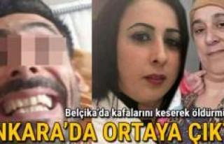 Kafalarını keserek öldürmüştü: Ankara'da...