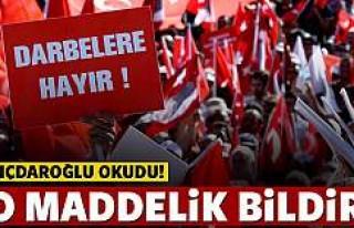 Kılıçdaroğlu'dan 10 maddelik bildiri