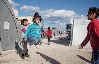 Kobani'li küçük çocuğun dramatik hayatı...