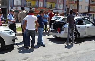 Kulu'da Zincirleme trafik Kazası