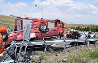Kulu yakınlarında  feci kaza: 3 ölü 6 yaralı
