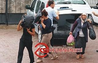 Kulu'da 3 kadın hırsız suçüstü yakalandı