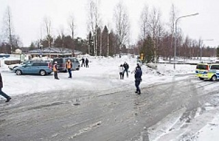 Luleå 'daki mezarlık cinayeti intiharmış