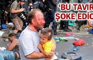 Macar polisinin gaz bombası göçmen çocuğu kör...