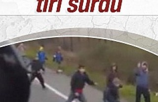 Macar şoför TIR'ı mültecilerin üstüne sürdü