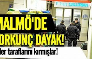 Malmö'de iki kişiyi ölümüne döverek bıraktılar