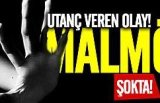 Malmö'de utanç veren olay kişi tutuklandı