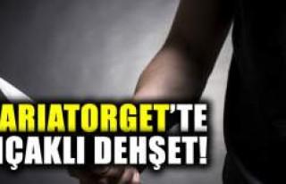 Mariatorget'te bıçaklı dehşet!