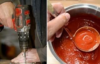 Matkapla domates sos yapan Gatuköket'e uyarı