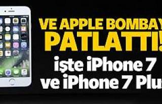 Merakla beklenen iPhone 7 ve iPhone 7 Plus tanıtıldı