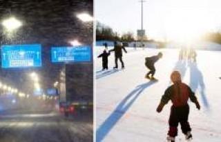 Meteoroloji uyardı: İsveç'e beklenen kış...