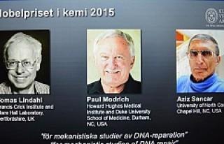 Nobel Kimya Ödülü'nü Türk asıllı Aziz...