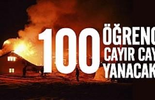 Norveç'te 100 Danimarkalı öğrenci yanarak...