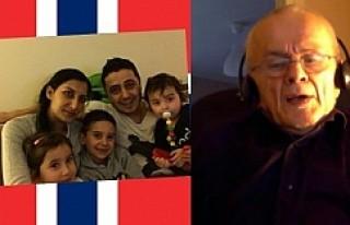 Norveçli emekli memurdan, çocukları alınan aileler...
