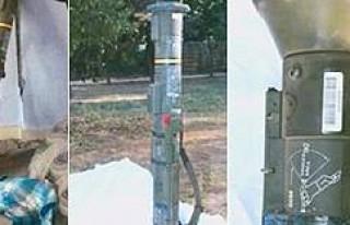 Nusaybin'de ABD-İsveç yapımı antitank roketi...