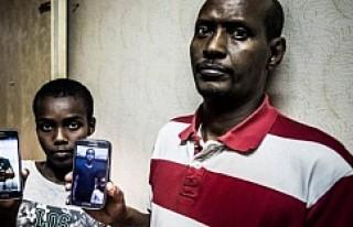 Okul baskınında öldürülen Ahmed'in babası...