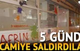 PKK/PYD Avrupa'da camileri hedef aldı