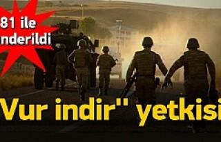 Polis ve askere ''Vur indir''...